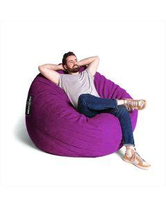 Giant Fabric Bean Bag  Purple