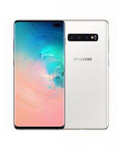 Samsung Galaxy S10+ Plus Dual Sim -128GB, 8GB RAM, 4G LTE, Ceramic White