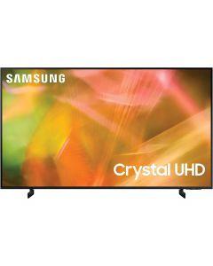 تلفزيون سمارت سامسونج 55 بوصة LED، بدقة 4K كريستال UHD، بريسيفر داخلي - UA55AU8100UXEG
