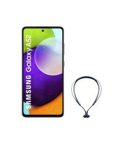 هاتف سامسونج جالاكسي A52 ثنائي الشريحة ، سعة 256جيجابايت ، 8 جيجابايت رام ، 4 جي إل تي إي ، أزرق