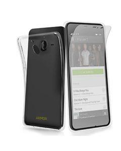لاصقة نانو ارمور زجاجية ضد الصدمات و كوفر شفاف (لموبايل موديل Nokia 2.1) - 220102844