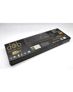 لوحة مفاتيح مع ماوس بورش من دوب يو اس بي - KM 80 W/l