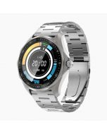 BlitzWolf BW-HL3 SmartWatch1.3in Full Touch Health & Fitness Tracker – Silver Metal