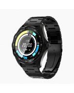 BlitzWolf BW-HL3 SmartWatch1.3in Full Touch Health & Fitness Tracker – Black Metal