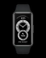 ساعة ذكية هواوي باند 6 لتعقب اللياقة البدنية  - اسود جرافيت