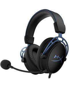 HyperX Cloud Alpha S Gaming Headset | HyperX 7.1 Surround Sound | Bass adjustment sliders | HyperX Dual Chamber Drivers | Durable aluminum frame