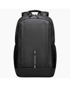 ARCTIC HUNTER B00386 Laptop Backpack, USB Charging Port Black