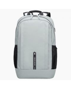 ARCTIC HUNTER B00386 Laptop Backpack, USB Charging Port Gray