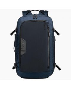 ARCTIC HUNTER B00187 BACKPACK 15.6inch -usb & aux ports – Black/Blue