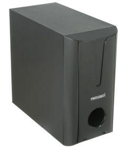 مضخم صوت ميديا تك لاسلكي مع بار صوت، اسود - MT-B001