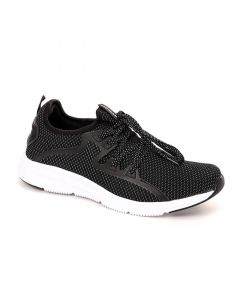 SHARE THIS PRODUCT   Air Walk Bi-Tone Slip On Black & White Touch Running Socks Sneakers