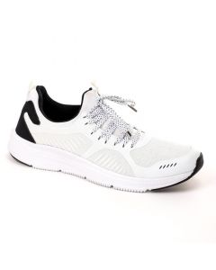 Air Walk Lace Up Mix White Running Sneakers