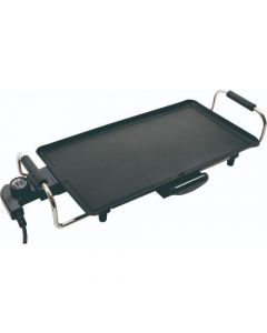 Home Non Stick Coating Electric Grill Plate 1800W KS 3350 Black