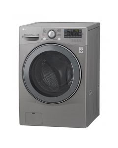 LG Front Loading Digital Washing Machine With Dryer, 14 KG, Silver - FH0D7DDMK62