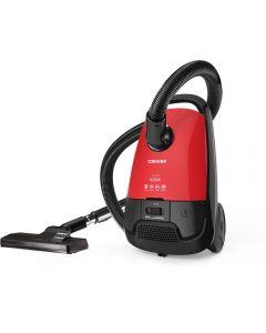 مكنسة كهربائية توشيبا، 1600 وات، احمر و اسود - VC-EA1600SE