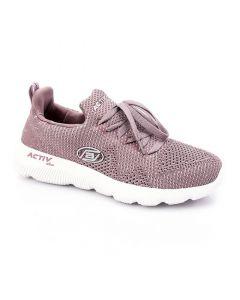 Activ Bi-Tone Comfy Lavender & White Sneakers