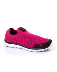 Air Walk Comfy Slip On Textile Sneakers