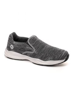 Air Walk Slip On Round Toe Comfy Sneakers - Dark Grey