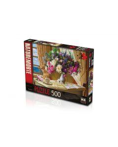 """Puzzle 500 Pcs Morning Tea Product Dimensions 34 x 48 cm """