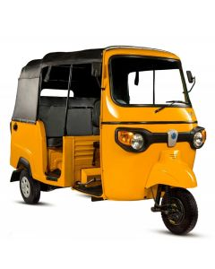 Piaggio APE City Tuk-Tuk, 197cc, yellow