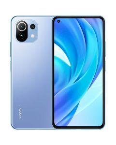 هاتف مي 11 لايت ثنائي الشريحة بذاكرة رام سعة 8 جيجابايت وذاكرة داخلية سعة 128 جيجابايت يدعم تقنية 4G LTE، لون الزاهي الأزرق - احجز الان