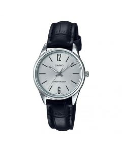Casio Casual Watch, Analog, Leather Band For Women - LTP-V005L-7BUDF