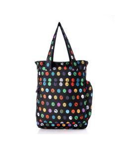Activ Dotted Front Zipper Pocket Shoulder Bag
