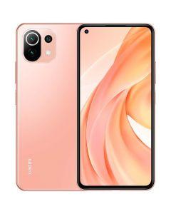 هاتف مي 11 لايت ثنائي الشريحة بذاكرة رام سعة 8 جيجابايت وذاكرة داخلية سعة 128 جيجابايت يدعم تقنية 4G LTE، لون وردي خوخي- احجز الان