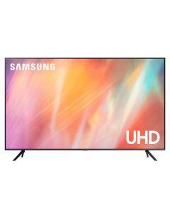 تلفزيون سامسونج 55 بوصة الذكي 4K فائق الدقة ال اي دي ، اسود - UA55AU7000
