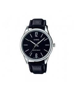 Casio Dress Watch, Analog, Leather Band For Men - MTP-V005L-1BUDF