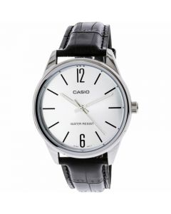 Casio Dress Watch, Analog, Leather Band For Men - MTP-V005L-7BUDF