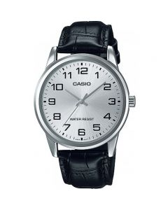 Casio Dress Watch, Analog, Leather Band For Men MTP-V001L-7BUDF