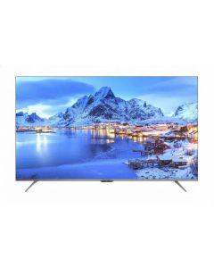 تليفزيون سمارت اندرويد ال اي دي 4K الترا اتش دي 55 بوصة بريسيفر مدمج مع ريموت كنترول من شارب - 4T-C55DL6EX