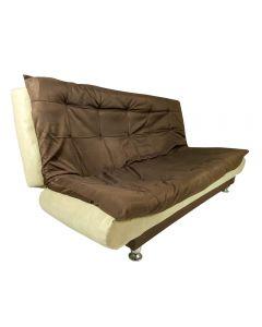 كنبة سرير 3*1 بني*بيج 120*190 cm