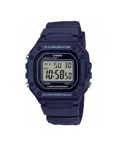 Casio Sport Watch, Digital, Resin Band For Men - W-218H-2AVDF