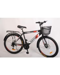 Gomaa Classic City Bike with صيني جوده عاليهspeeds , 26inches