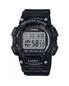 Casio Casual Watch, Digital, Resin Band For Men - W-736H-1AVDF