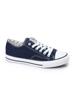 Activ Navy Blue Lace Up Shoes