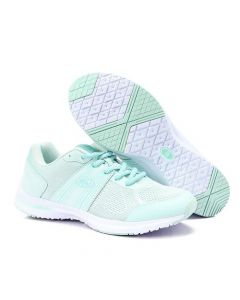 Activ Striped Sides Lace Up Casual Sneakers - Mint Green
