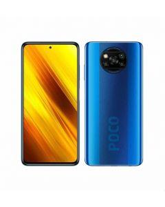 موبايل شاومي بوكو X3 بشريحتين اتصال، شاشة 6.67 بوصة، 128 جيجابايت، 6 جيجابايت رام، شبكة الجيل الرابع ال تي اي -فورست ازرق