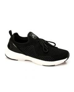 Activ Upper Decorative Lace Slip On Sneakers - Black