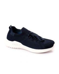 Activ Decorative Lace Textile Sneakers - Navy Blue