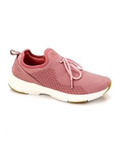 Activ Upper Decorative Lace Slip On Sneakers - Pink