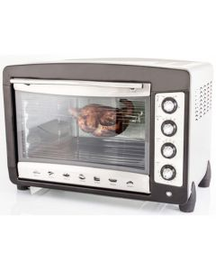 Nouval Electric Oven With Grill Chief 50 Liter Silver