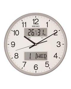 ساعة حائط سيكو برواز بلاستيك QXL013S