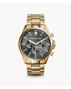 ساعة مايكل كورس جيج للرجال مينا رصاصي وبسوار ستانلس ستيل كرونوغراف - MK8361.5