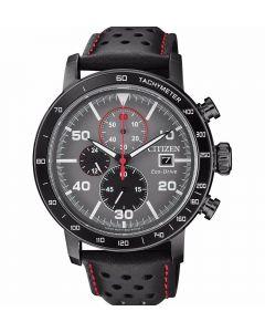 ساعة سيتيزن ايكو درايف ، انالوج بعقارب ، سوار جلد للرجال - CA0645-15H