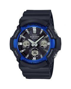 Casio G-Shock Sport Watch, Analog-Digital, Plastic Band For Men, Black - GAS-100B-1A2DR