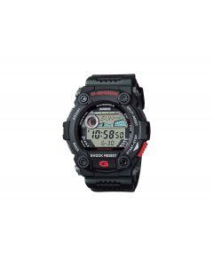 ساعة رياضية جي شوك كاسيو للرجال، ديجيتال، سوار بلاستيك، اسود - G-7900-1DR