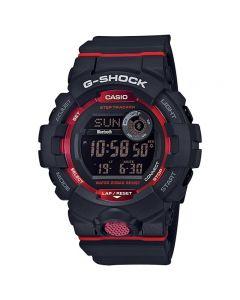 ساعة رياضية جي شوك كاسيو للرجال، ديجيتال، سوار بلاستيك، اسود - GBD-800-1DR